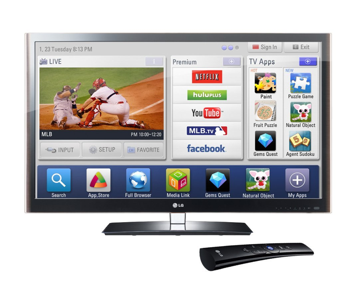 """LG Infinia 42""""1080p LED HDTV with Smart TV"""