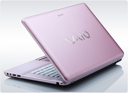 Sony VAIO VGN-NW240F/P 15.5-Inch Pink Laptop
